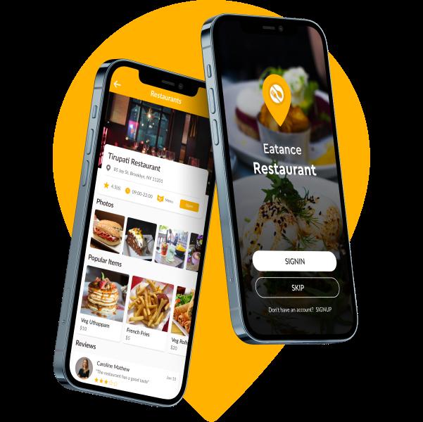 eatance restaurant app