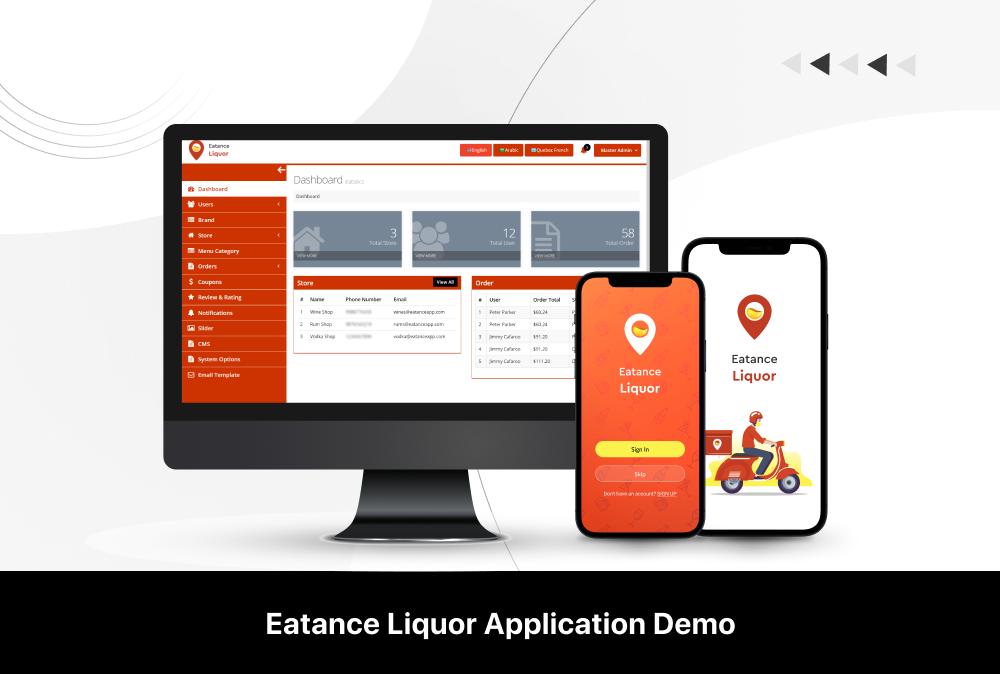 eatance liquor app demo