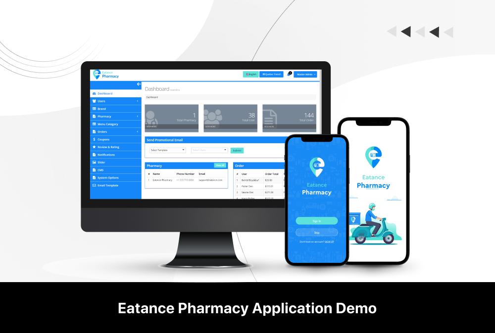 eatance pharmacy app demo