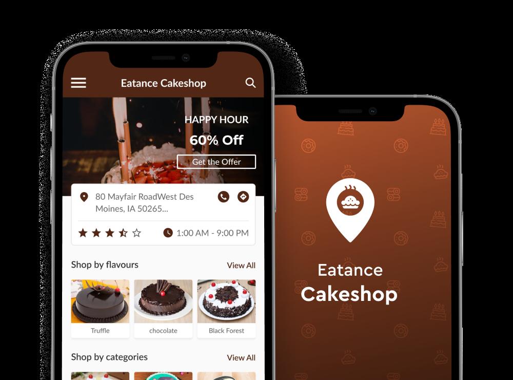 online cake order app