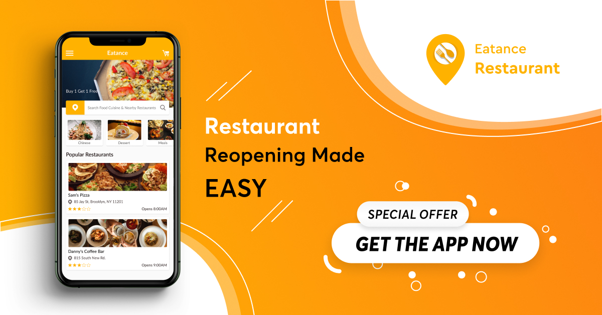 reopen restaurant with food delivery app