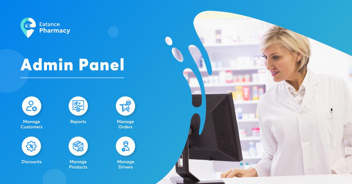 pharmacy delivery app admin