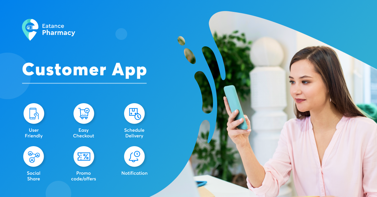 pharmacy delivery app for customers
