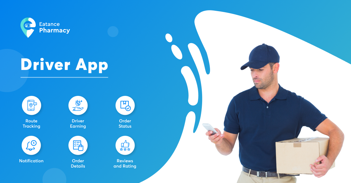 pharmacy delivery app for drivers