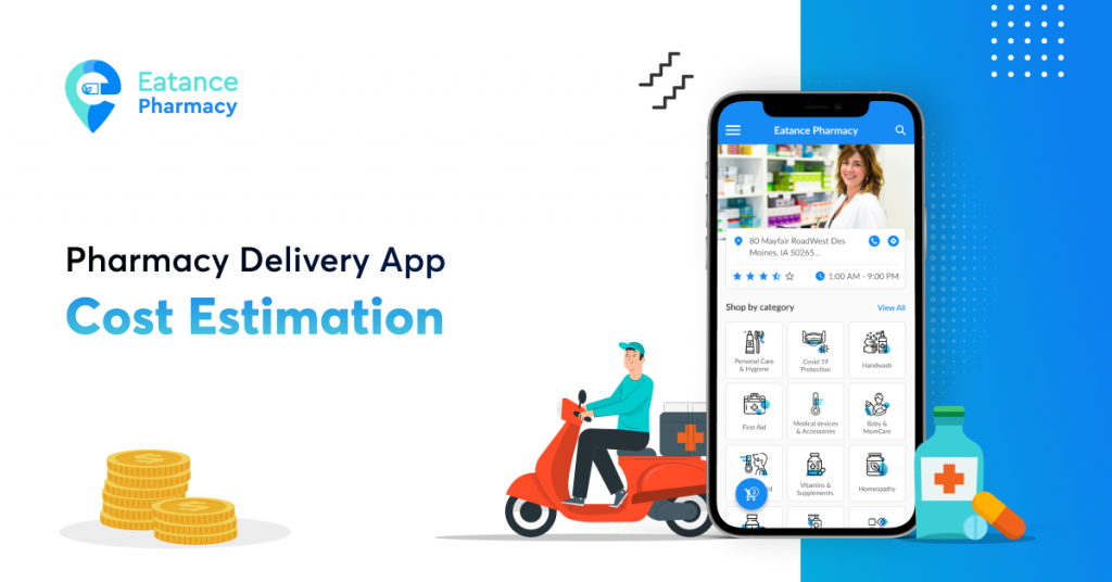 Cost Estimation for Pharmacy Delivery App