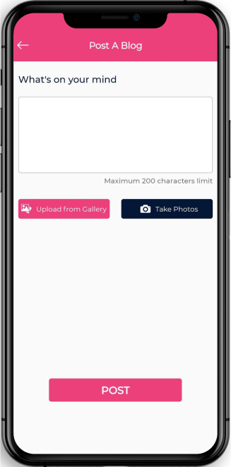 eatance dating app mobile screen