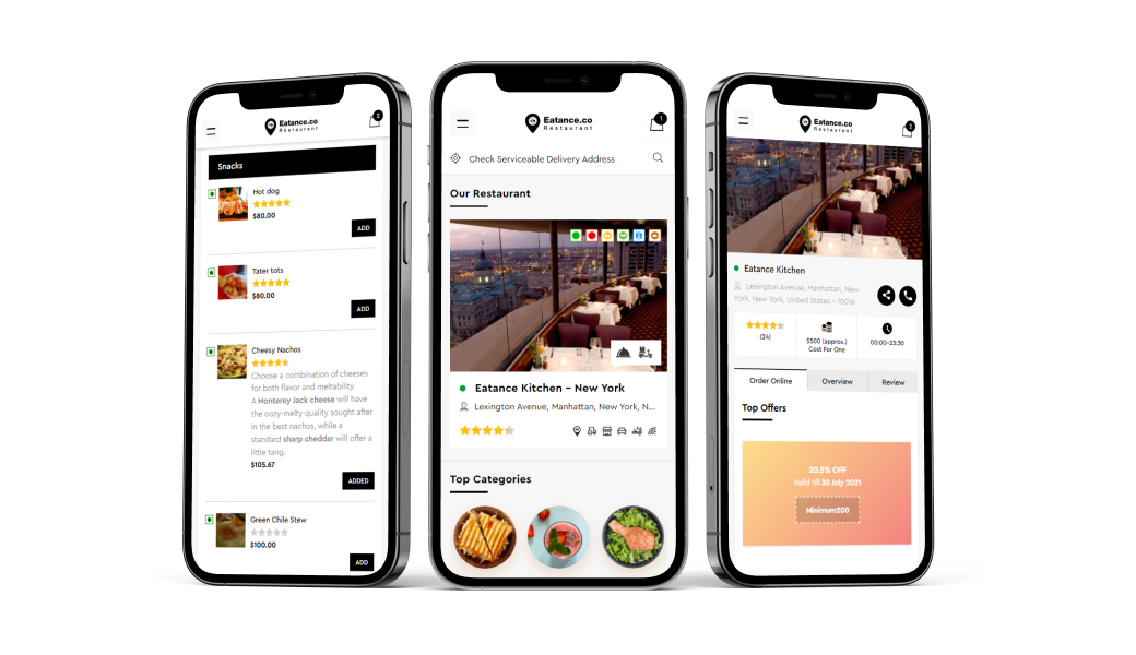 eatanceco on-demand mobile apps View