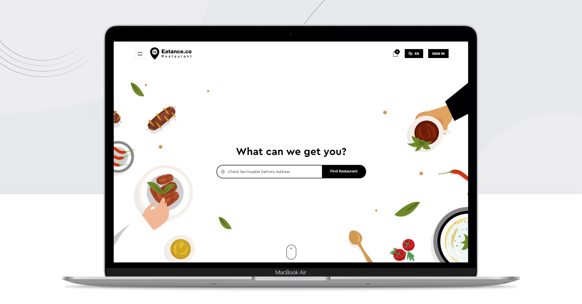 free food ordering system