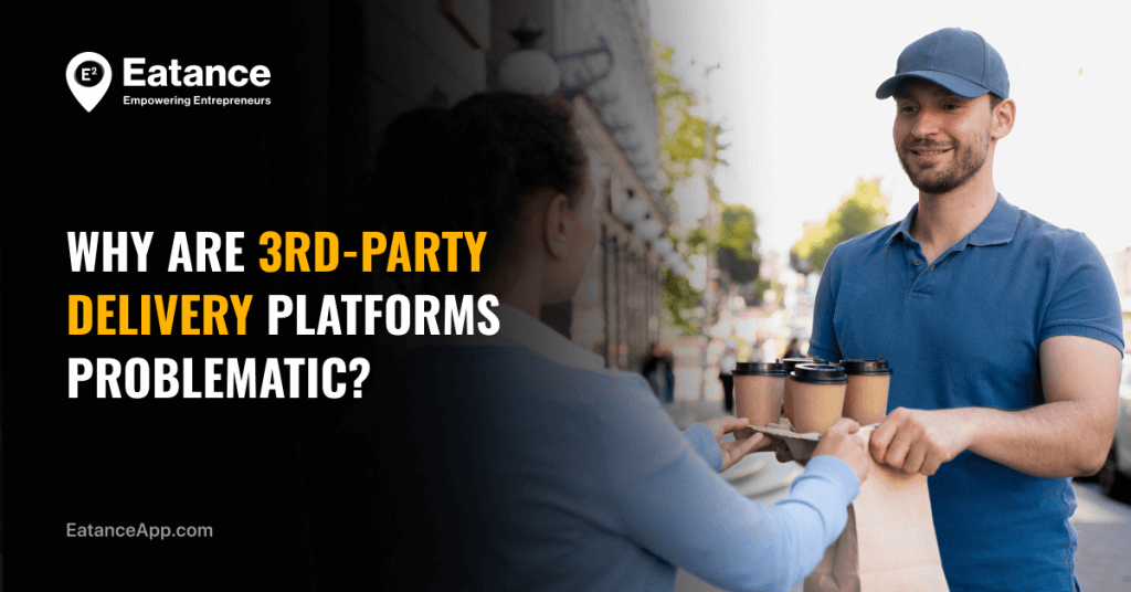 Disadvantages of third-party food delivery platform
